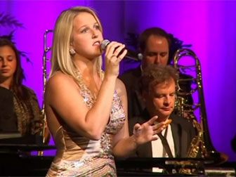 Jacklyn Buckingham with Linda Gentille and the Jersey Shore Pops